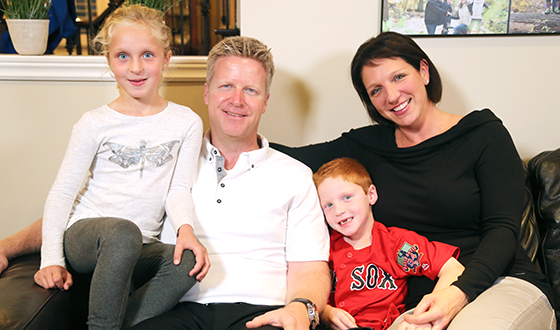 A New Life of Giving for Oakville Father